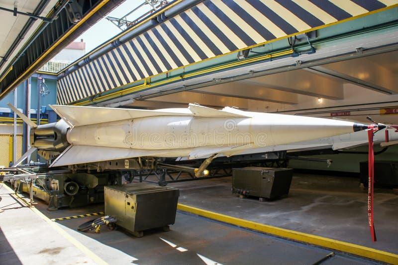 Luftvärns- missiler royaltyfria foton
