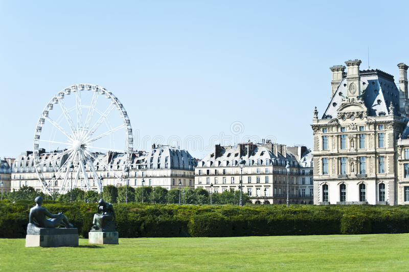 Luftventil i Paris. arkivfoto