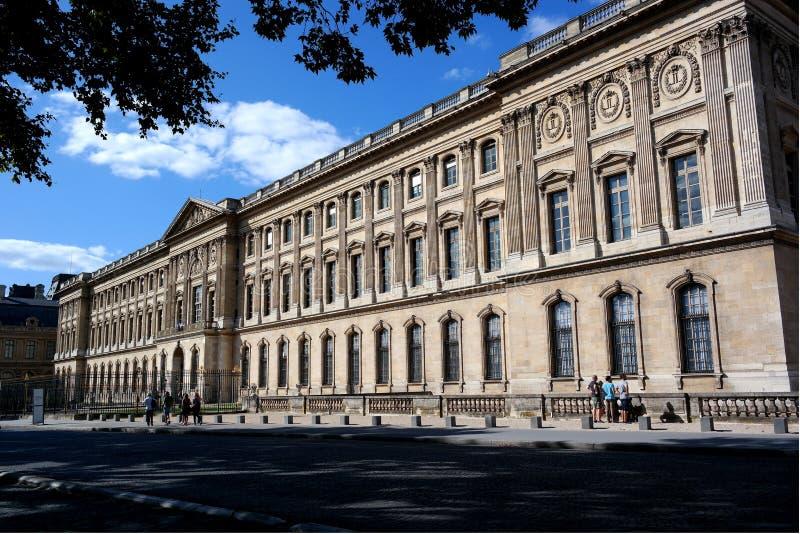 Luftventilmuseum, del av byggnaden, paris, Frankrike royaltyfri fotografi