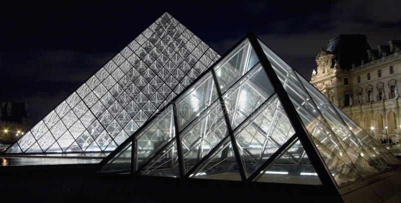 luftventilmuseumpyramid royaltyfri foto