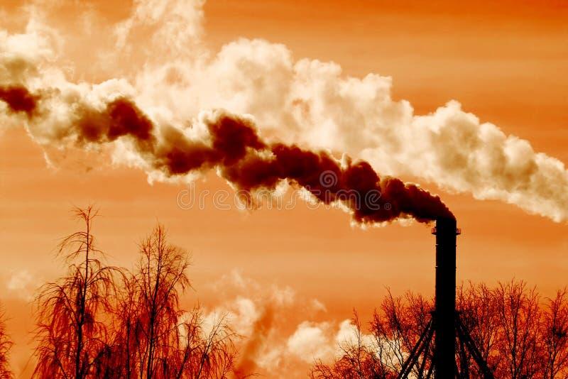 Luftverschmutzung stockbild