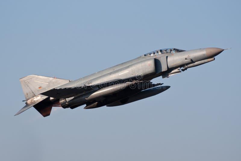 Luftwaffe F-4 Phantom lizenzfreie stockfotos