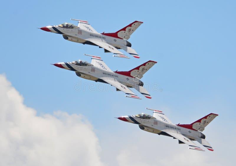 Luftwaffe Thunderbirds stockbilder