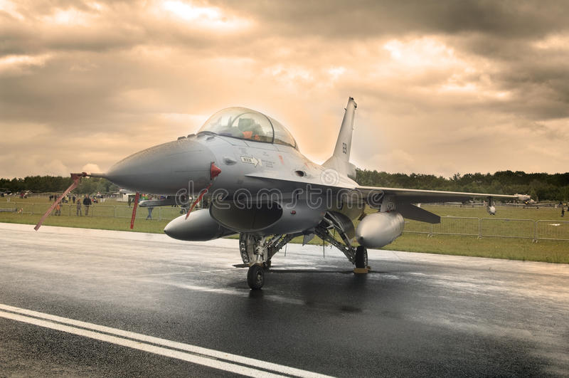 Luftwaffenstrahl stockfotografie