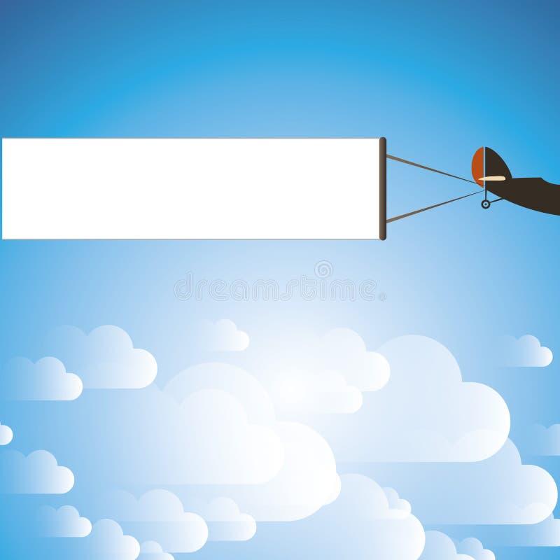 Luftwerbungs-Design vektor abbildung