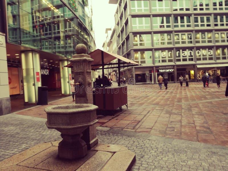 Lugano lizenzfreies stockbild