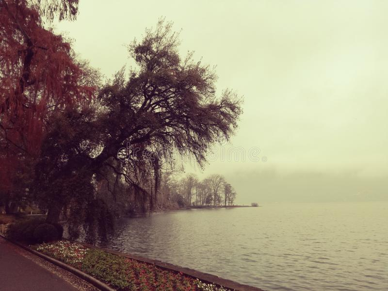 Lugano lizenzfreie stockfotografie