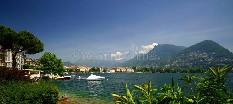 Lugano fotografie stock