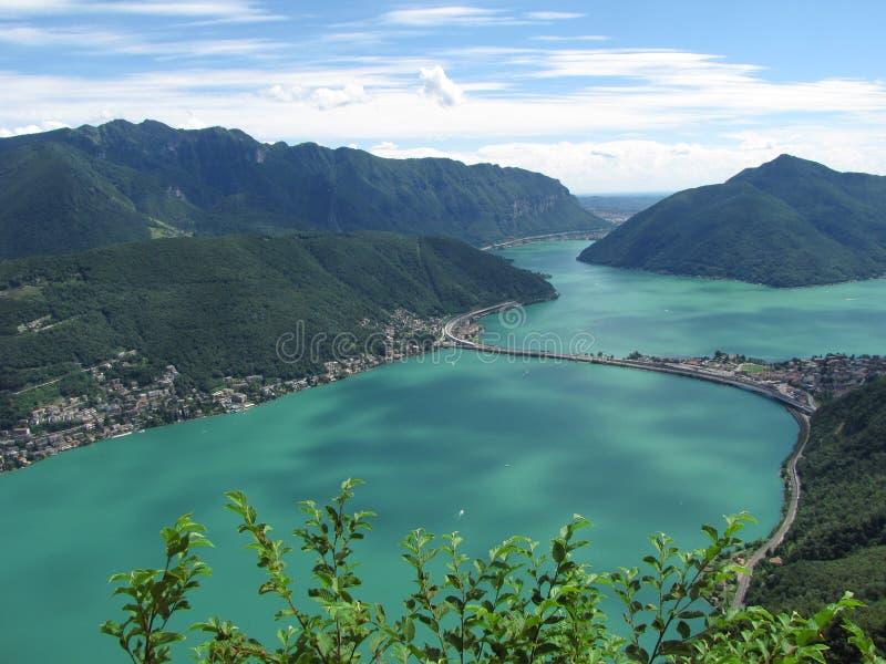 Lugano - Switzerland royalty free stock photos