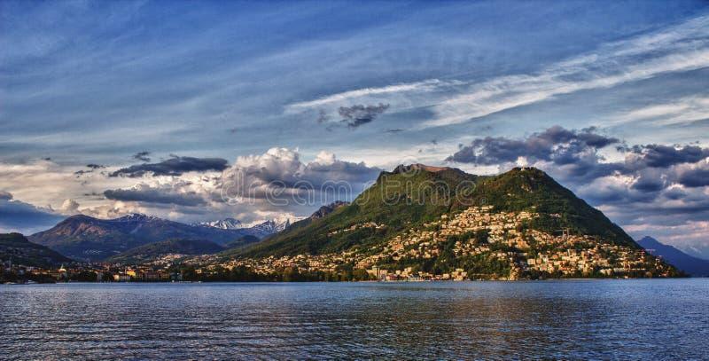 lugano Switzerland zdjęcia royalty free