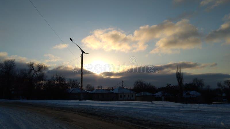 Lugansk LPR royalty-vrije stock afbeeldingen