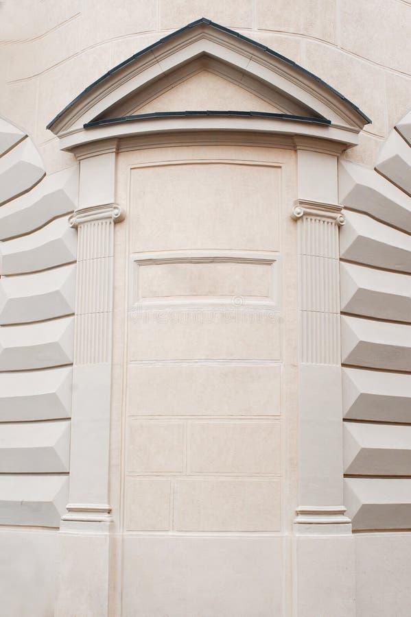 Lugar arquitetónico das colunas do arco para seu texto fotos de stock