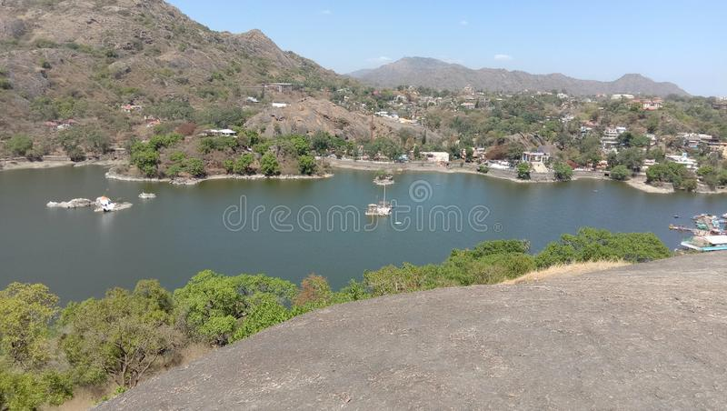 Lugar bonito mesmo mini GOA de Rajasthan imagens de stock royalty free