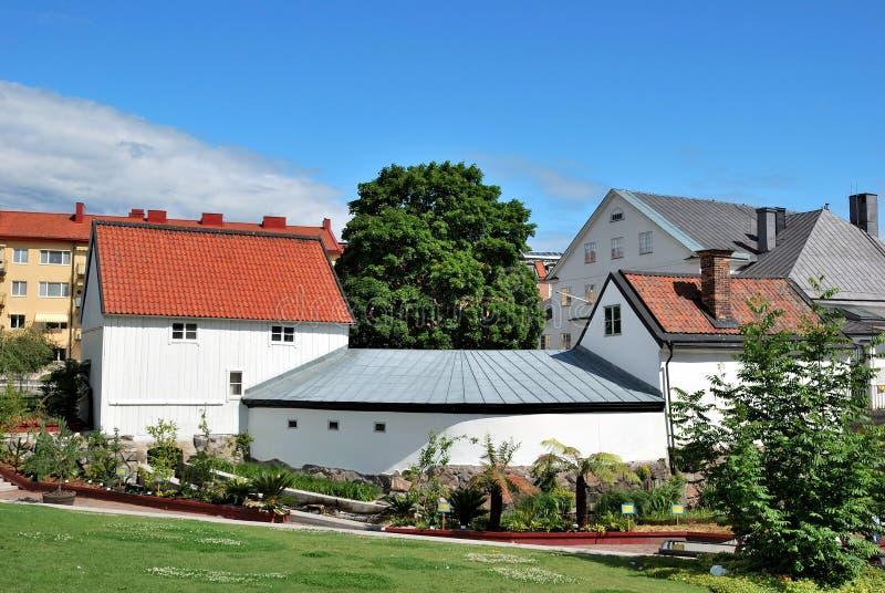 Lugar de Beautifulest en Uppsala, Suecia fotografía de archivo