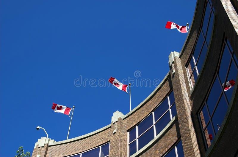Lugar de Canadá, Edmonton foto de archivo libre de regalías