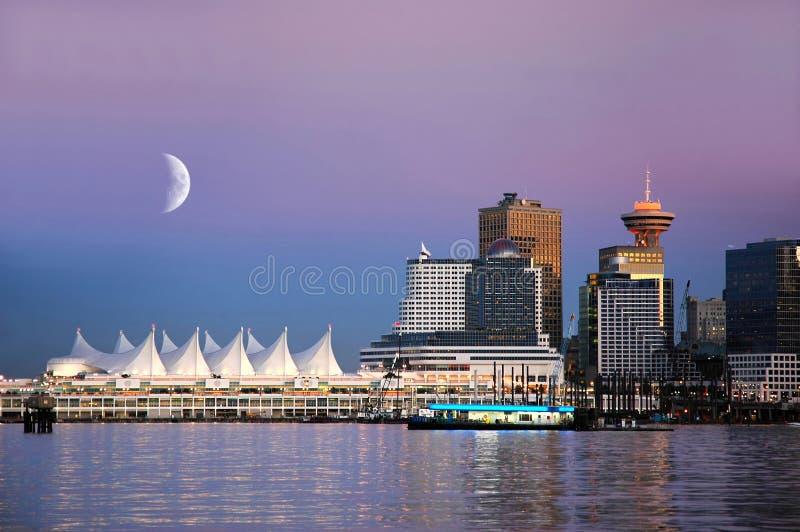 Lugar de Canadá, Vancouver, A.C. Canadá fotos de archivo