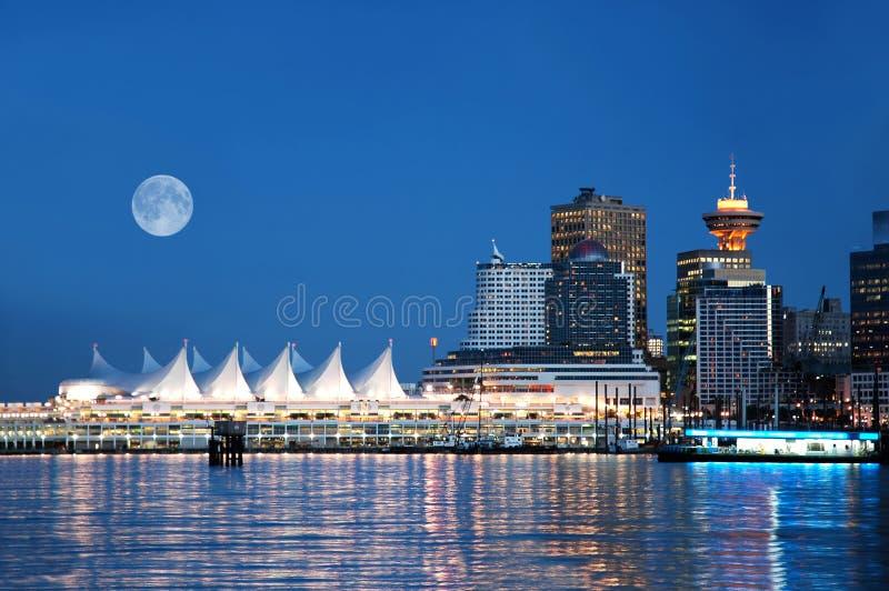 Lugar de Canadá, Vancouver, A.C. Canadá fotografía de archivo libre de regalías