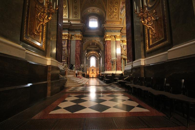 Lugar de culto de Budapest fotografía de archivo