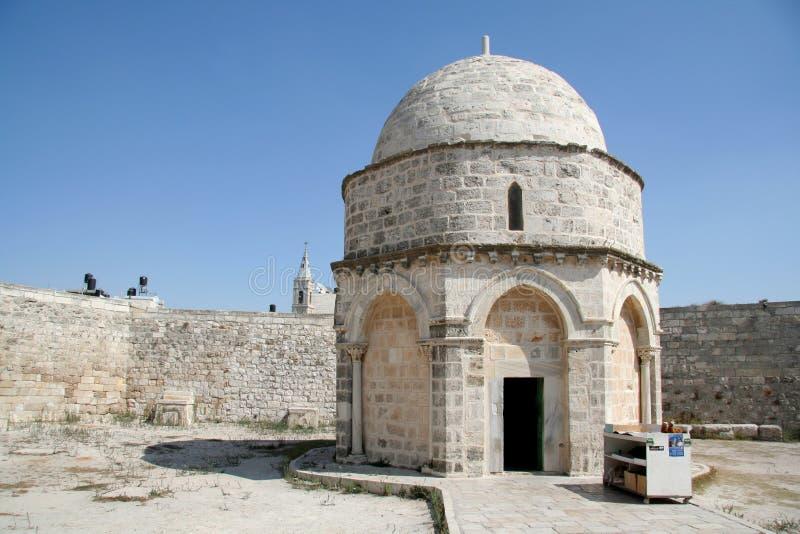 Lugar de la ascensión de Jesús imágenes de archivo libres de regalías