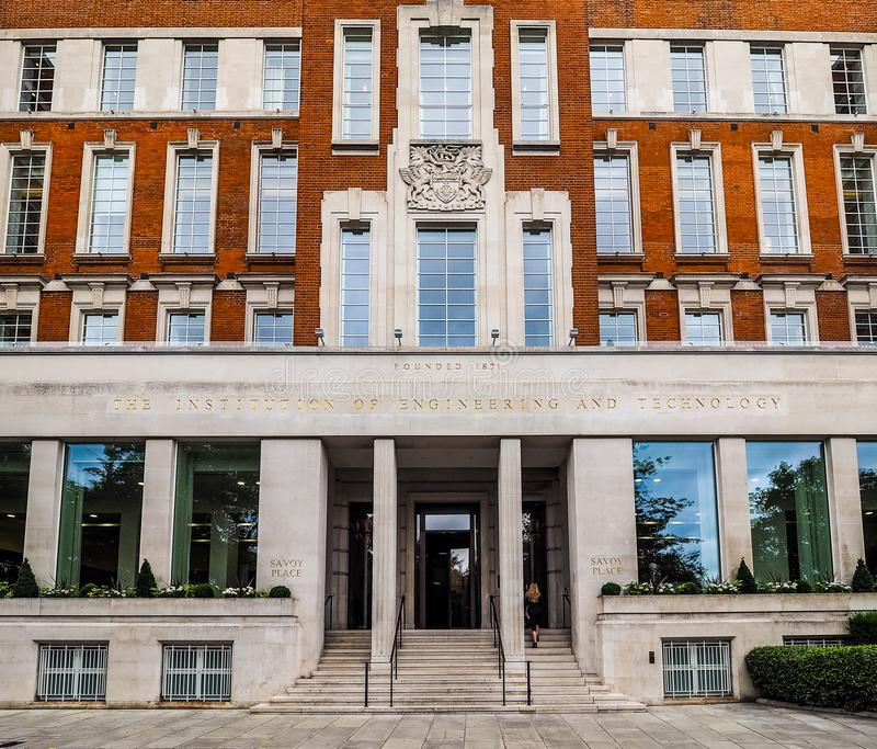 Lugar de la col rizada en Londres (hdr) fotos de archivo libres de regalías