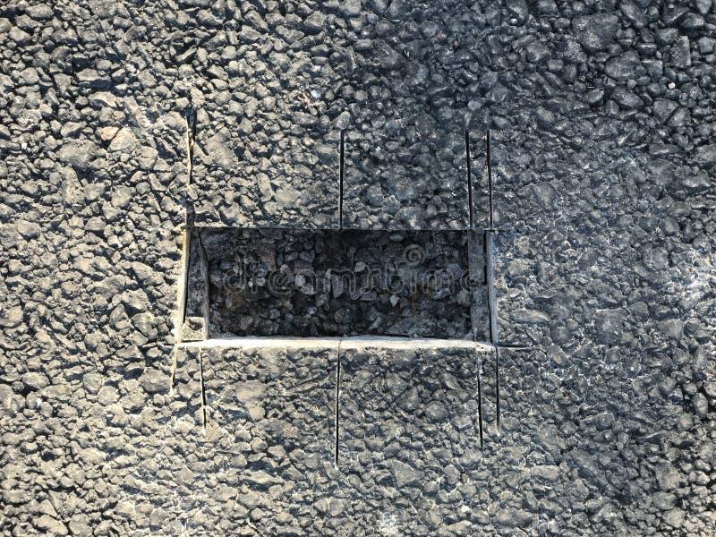 Download Lugar De La Muestra De Capa Concreta Del Asfalto Kern Imagen de archivo - Imagen de pavimento, asfalto: 100527437