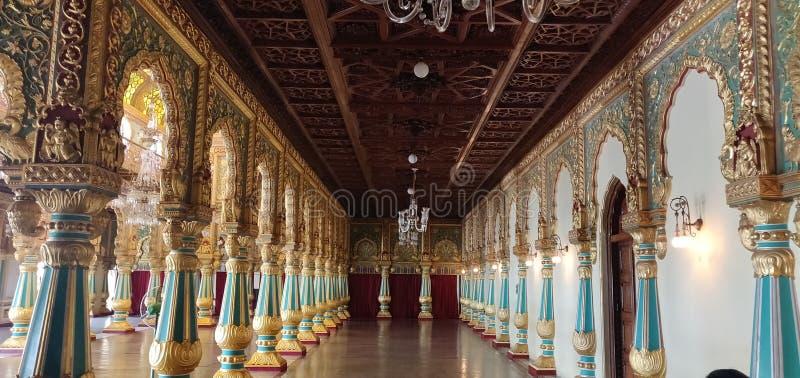 Lugar de Mysore, Karnataka fotos de archivo