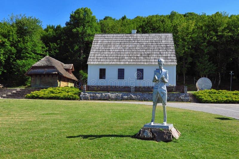 Lugar de nacimiento de Nikola Tesla imagen de archivo