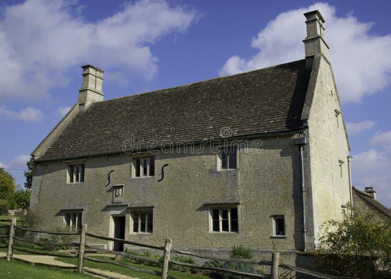 Lugar de nacimiento de Sir Isaac Newton fotos de archivo