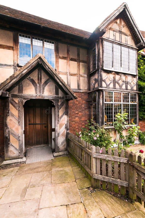 Lugar de nacimiento de William Shakespeare imágenes de archivo libres de regalías