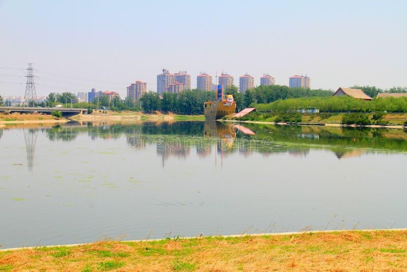 lugar de nacimiento del Gran Canal de Pekín-Hangzhou imagenes de archivo