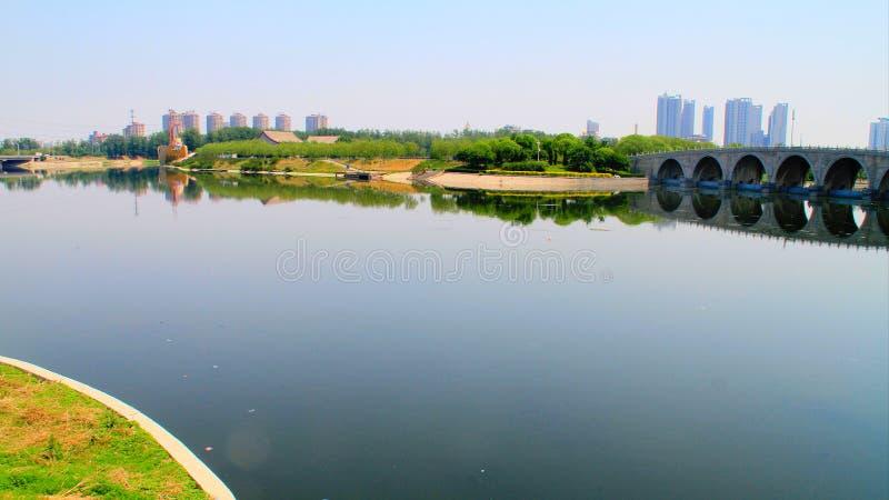 lugar de nascimento do canal grande de Pequim-hangzhou foto de stock royalty free