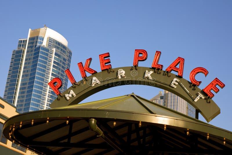 Lugar de Pike imagens de stock