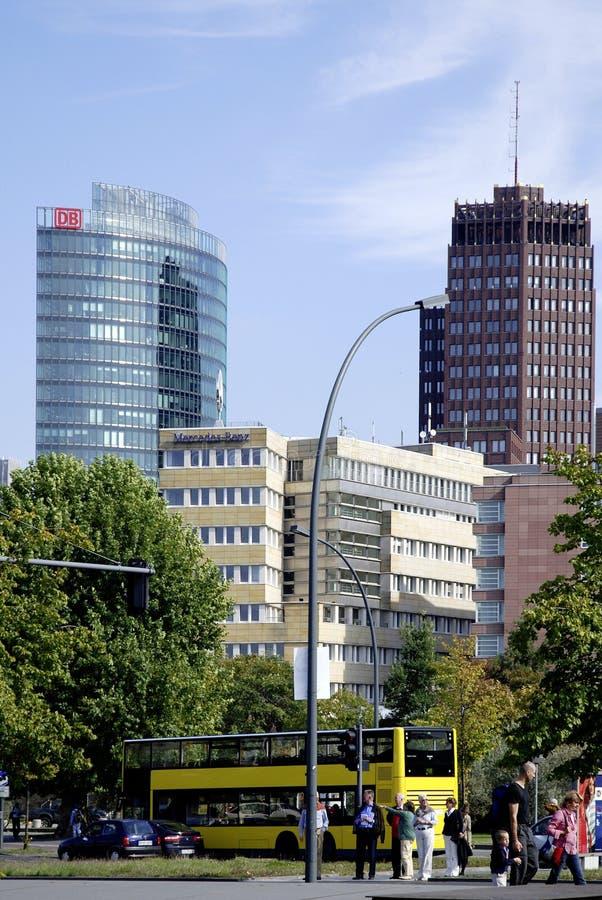 Lugar de Potsdam en Berlín imagen de archivo libre de regalías