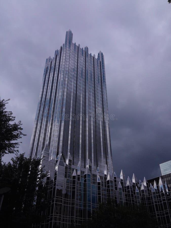Lugar de PPG en Pittsburgh imagen de archivo libre de regalías