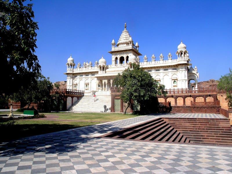 Lugar de reclinación del Maharaj3a fotografía de archivo