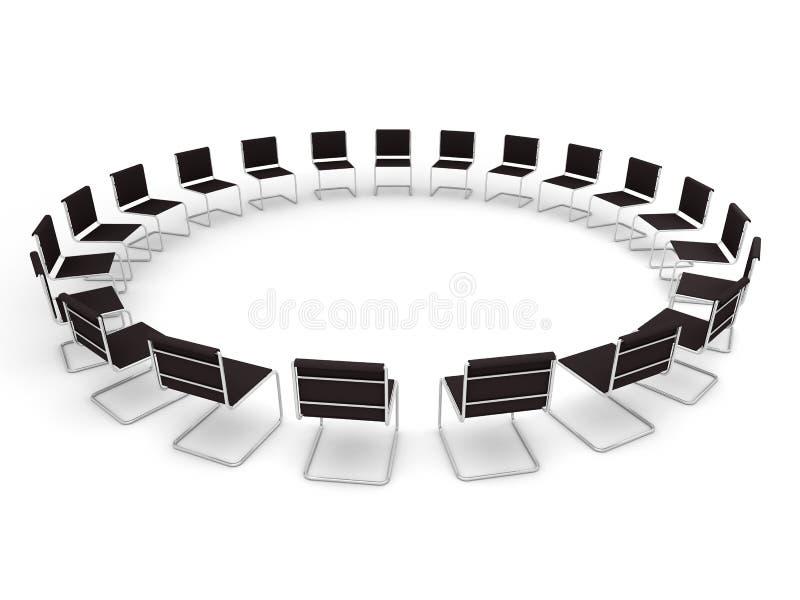 Lugar de reunión ilustración del vector