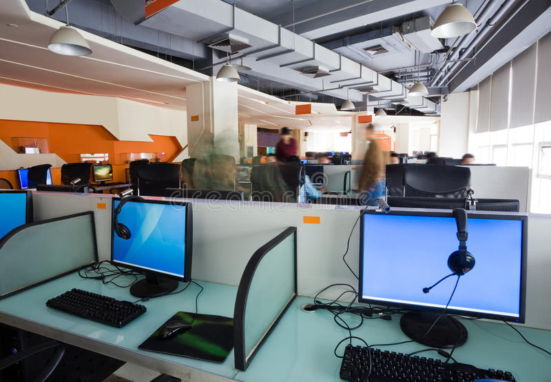 Lugar de trabajo de oficina imagen de archivo