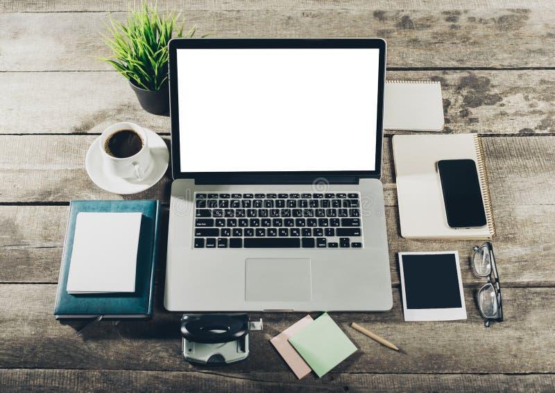 Lugar de trabajo herramientas de la oficina imagen de for Herramientas de oficina