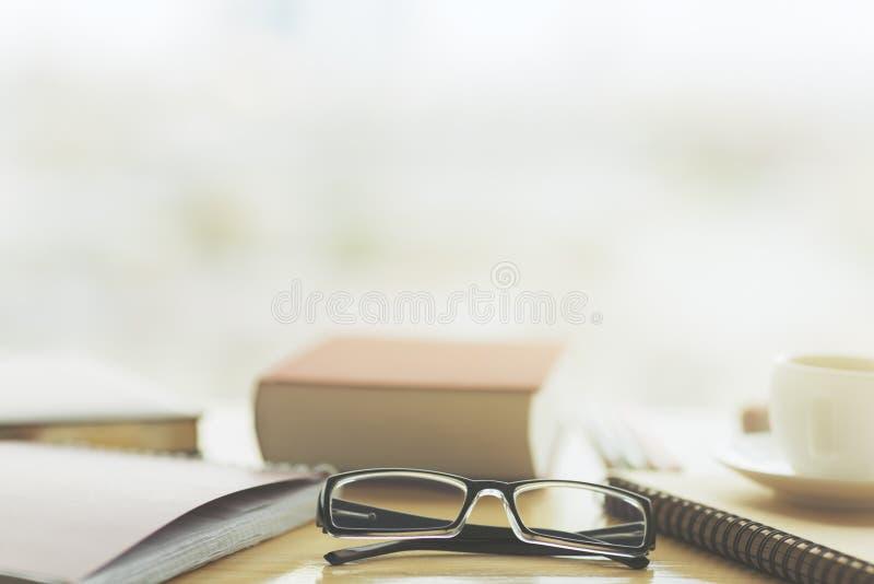 Lugar de trabajo y concepto de la visión fotografía de archivo libre de regalías