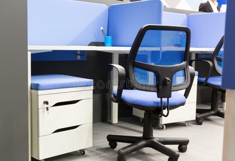 Lugar de trabalho do escritório imagem de stock