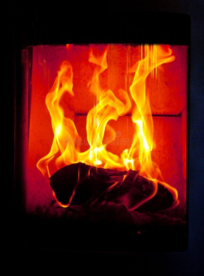 Lugar del fuego fotografía de archivo