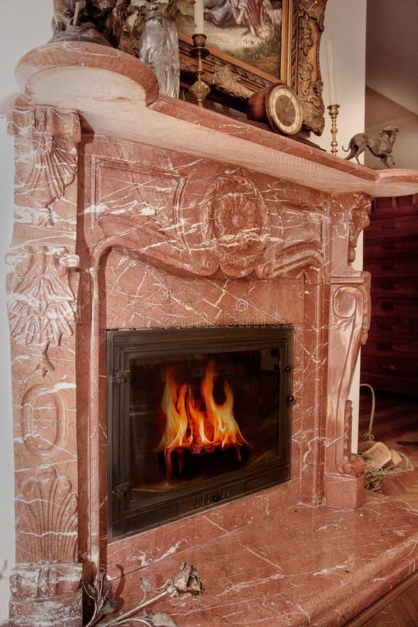 Lugar del fuego imagen de archivo