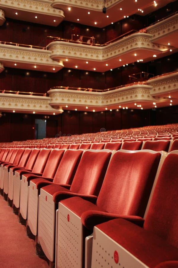 Lugar del teatro fotos de archivo