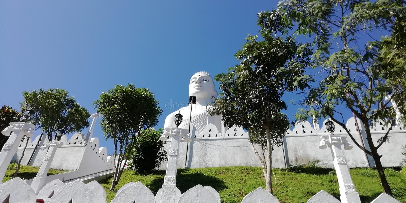 Lugar do lanka de Lord Buddha In Sri imagem de stock royalty free