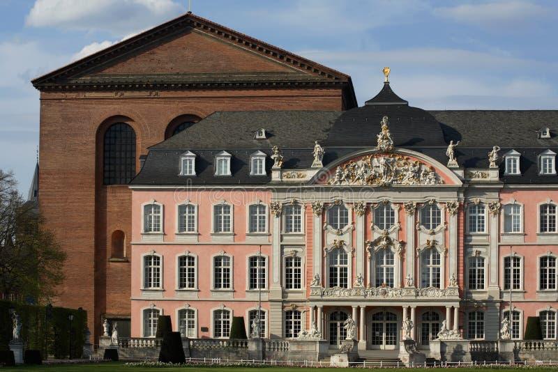 Lugar do Trier foto de stock