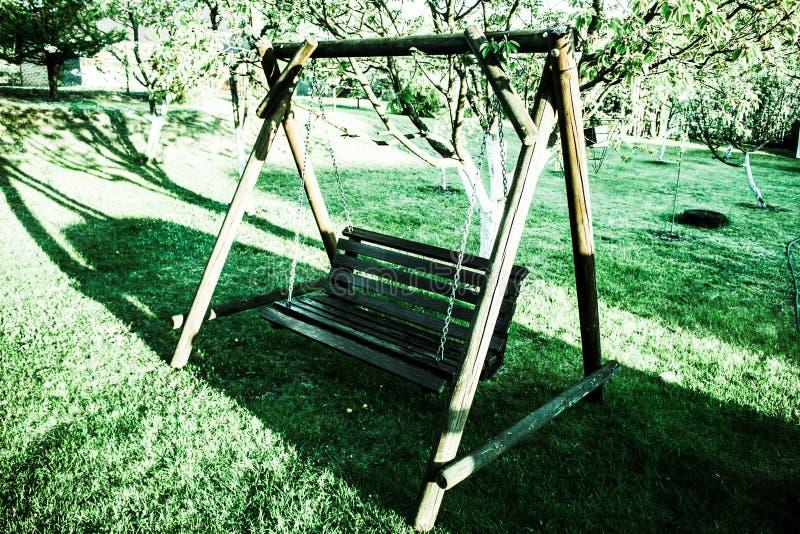 Lugar em meu jardim fotografia de stock