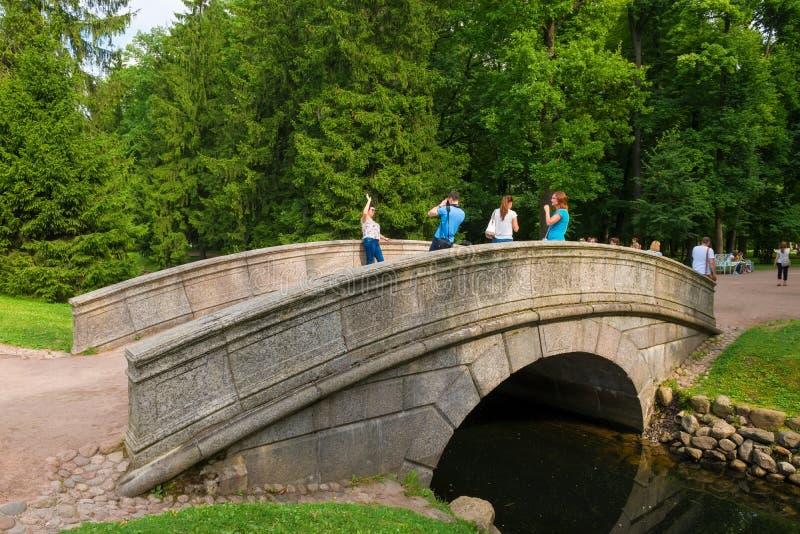Lugar favorito para fotos dos turistas imagem de stock