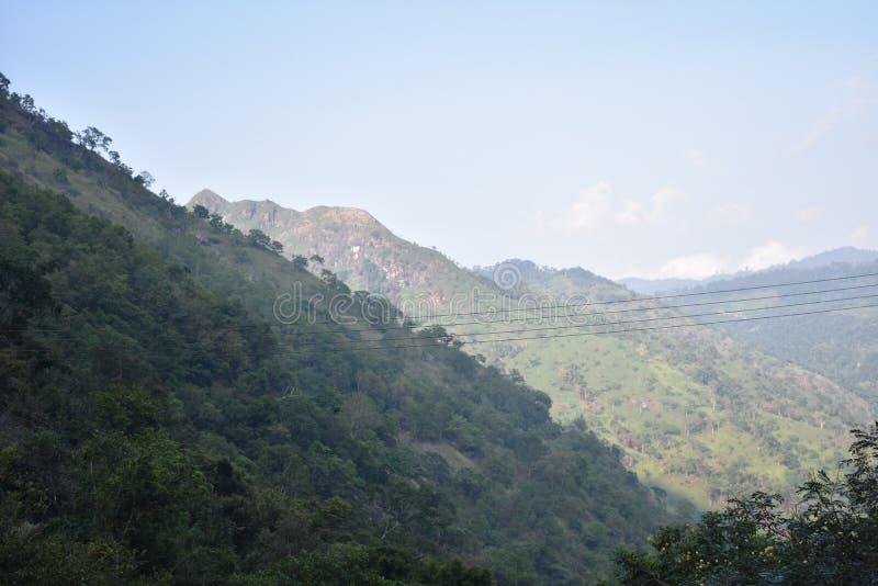 Lugar hermoso de la naturaleza Ella Sri Lanka fotografía de archivo