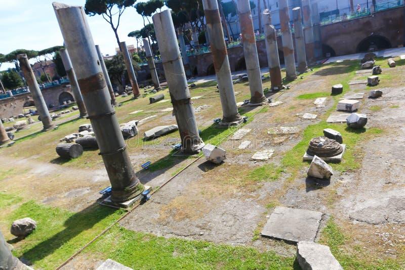 Lugar histórico em Roma imagem de stock