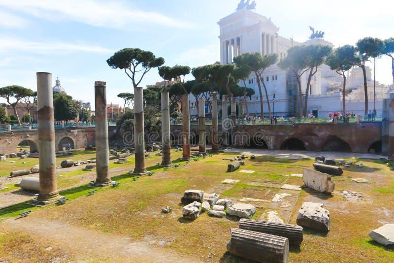 Lugar histórico em Roma imagens de stock royalty free